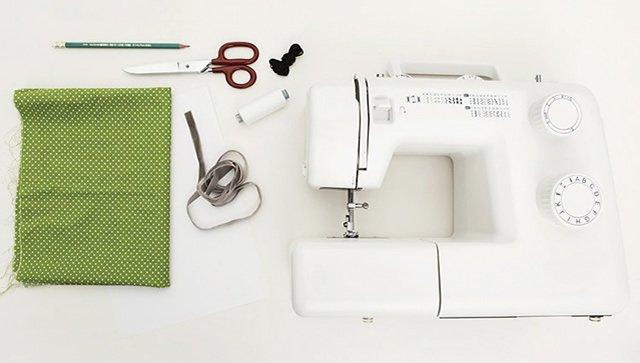 Materiais para costurar babador para bebê