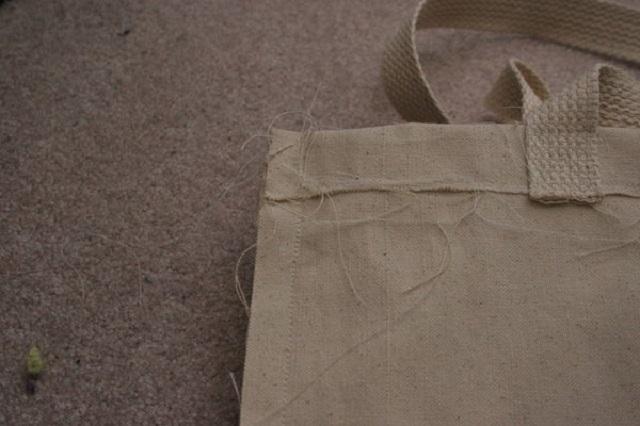 Como fazer ecobag de algodão cru