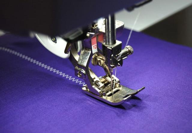 tipos de costura ziguezague