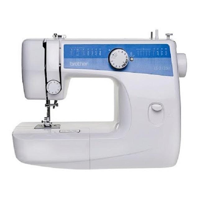 Máquina de costura eletrônica e mecânica
