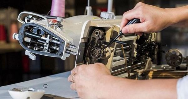 Manutenção de Maquina de Costura