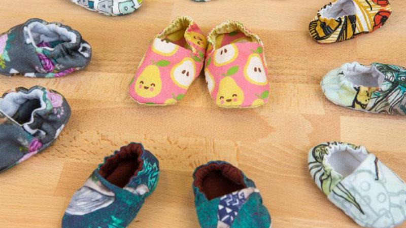 Artesanato para Bebê: Como Costurar Sapatinhos na Máquina